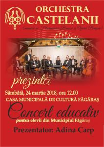 Castelanii educativ Fagaras 2018