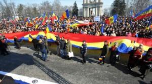 manifestarile de la Chisinau cu ocazia sarbatoririi celor 100 de ani de la unire