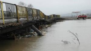 podul dintre Comăna şi Crihalma