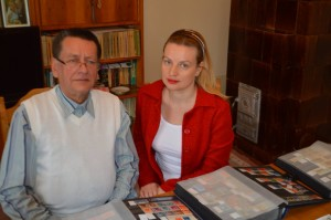 Remus Popovici, presedintele Cercului filatelic Fagaras