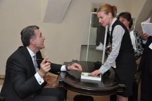 Principele Radu Duda îşi lansează două volume la Cetatea Făgăraşului, în anul 2014