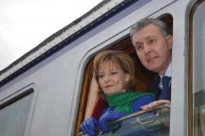 Trenul regal - Gara Făgăraş, 1 decembrie 2016
