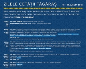 Program Ziele Cetatii 2018