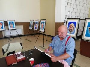 expo caricaturi Criv Vecerdea