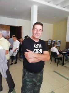 Actorul Radu Pietreanu, înainte de show-ul d ela Ceapa de Aur