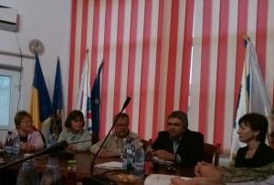 delegaţia franceză la şedinţa CL