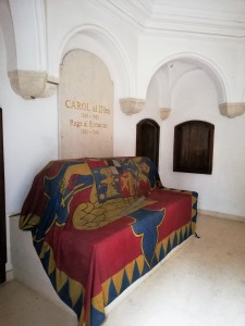 actual mormânt al lui Carol al II-lea