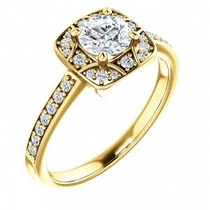 aur cu diamant