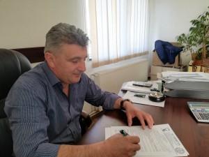 Gheorghe Moga - primar Lisa