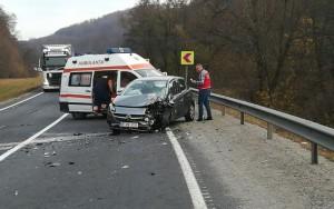 accident pe DN 1, în zona Perşani, una dintre zonele cu cele mai multe accidente rutiere
