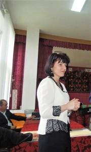 "prof. Liliana Spiridon, director Colegiul ,,Aurel Vijoli"""