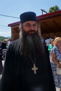 starețul Mănăstirii Șinca Nouă, preotul Matei Bilauca